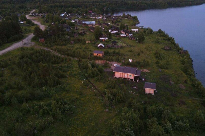 Дом на берегу озера Маслозеро, 100 кв.м. на 8 человек, 2 спальни, д. Маслозеро, Озёрная улица, 10А, Медвежьегорск - Фотография 52