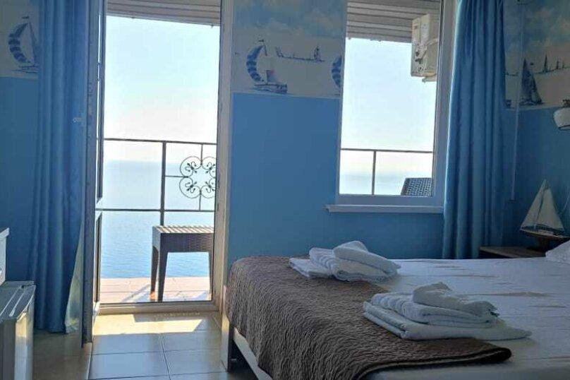2-х местный номер на 2-ом этаже, балкон с великолепным видом на море(Парус), Балаклавский муниципальный округ, Снт Электрон , 44, Севастополь - Фотография 1
