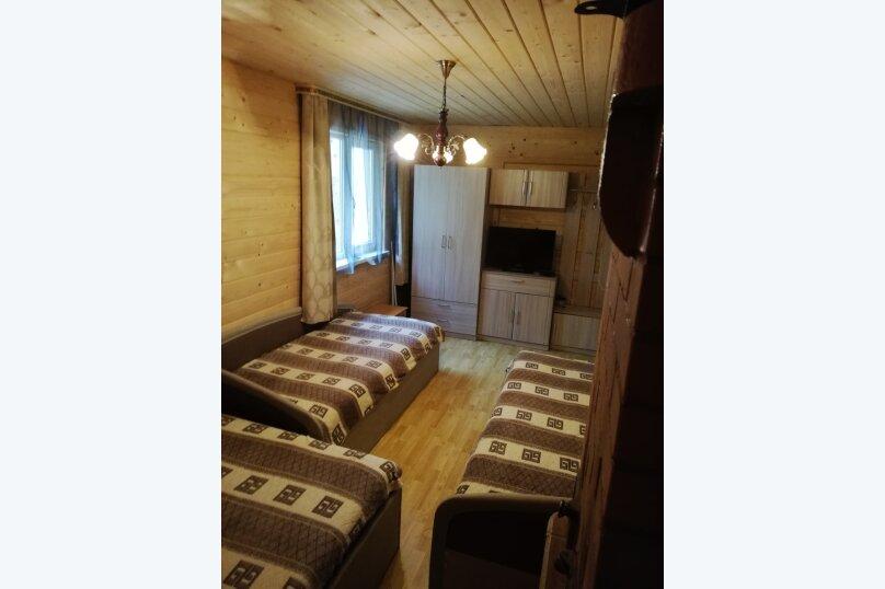 Дом в лесу ( 4 шт.) на берегу озера , деревня Стеклино, 36 на 4 номера - Фотография 32