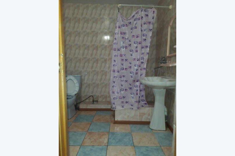 двух местный номер без балкона с удобствами в номере , Таёжная улица, 1А, Лоо - Фотография 1