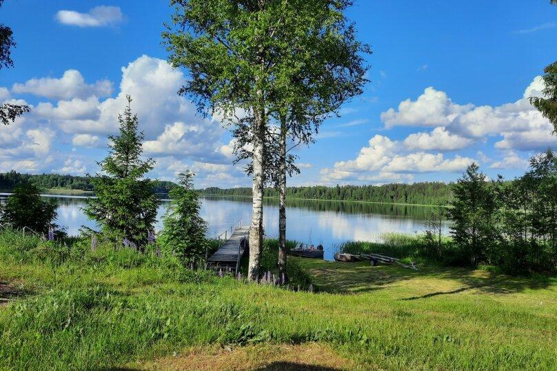 Дом в лесу ( 4 шт.) на берегу озера , деревня Стеклино, 36 на 4 номера - Фотография 9