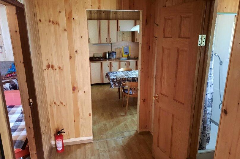 Дом в лесу ( 4 шт.) на берегу озера , деревня Стеклино, 36 на 4 номера - Фотография 41