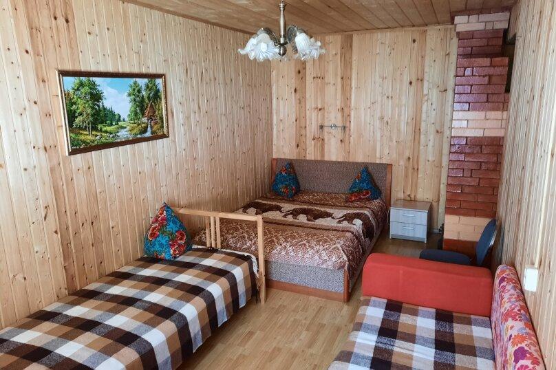 Дом в лесу ( 4 шт.) на берегу озера , деревня Стеклино, 36 на 4 номера - Фотография 43