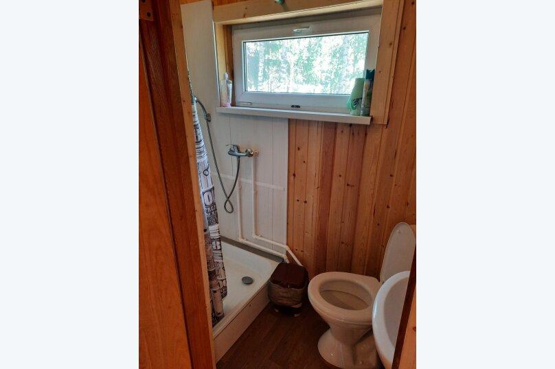 Дом в лесу ( 4 шт.) на берегу озера , деревня Стеклино, 36 на 4 номера - Фотография 44