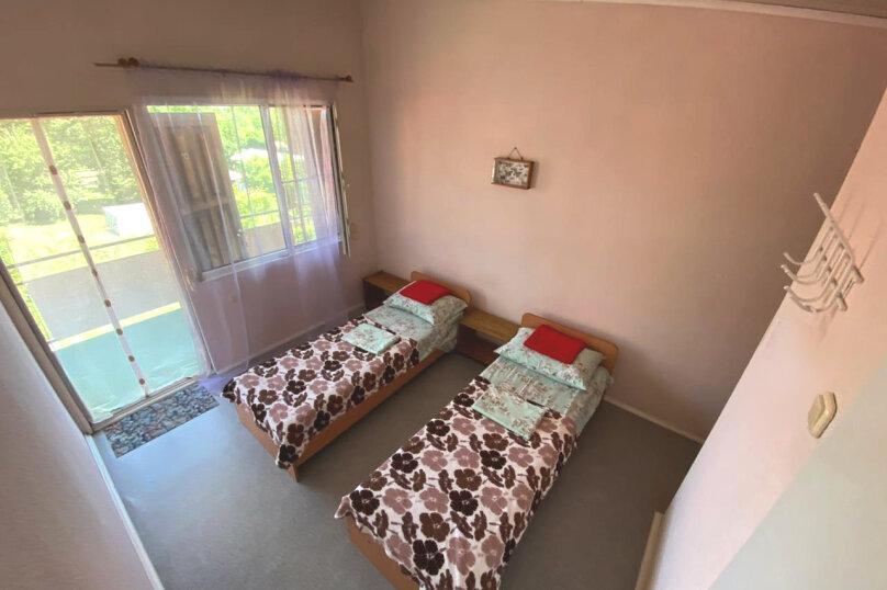 Двухместный номер с двумя кроватями, Каштановая улица, 24, Архипо-Осиповка - Фотография 1
