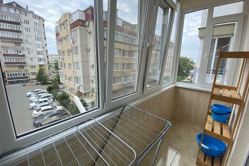 1-комн. квартира, 39 кв.м. на 4 человека, улица Лермонтова, 116, Анапа - Фотография 9