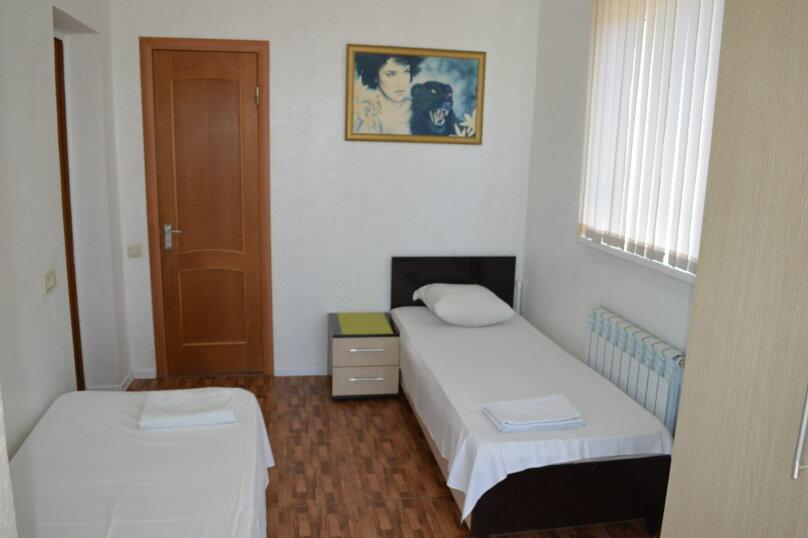 Двухместный номер с 2 отдельными кроватями и видом на море, улица Просвещения, 169Г, Адлер - Фотография 1