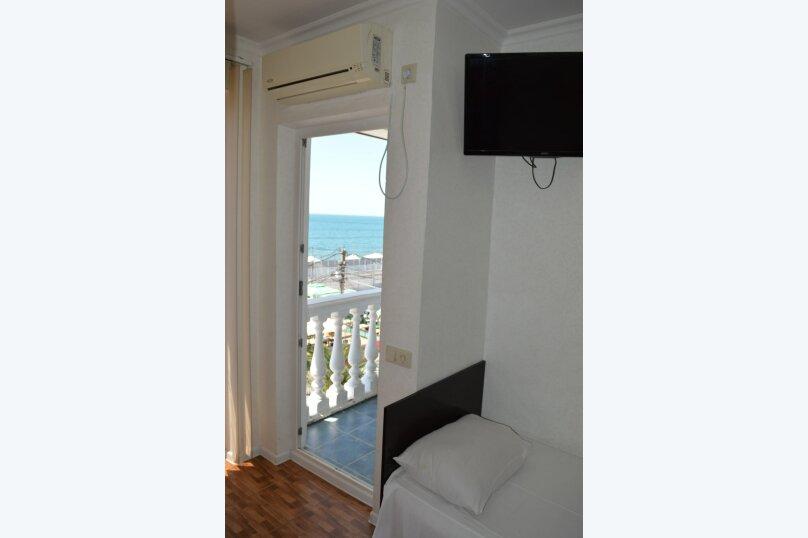 Двухместный номер с 2 отдельными кроватями и видом на море, улица Просвещения, 169Г, Адлер - Фотография 3