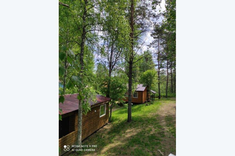 Дом, 50 кв.м. на 4 человека, 2 спальни, Дачная, 15, Лахденпохья - Фотография 1