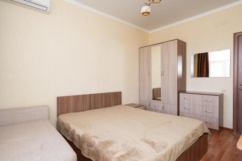 номер стандарт двухкомнатный корп.№2 (2-4 этаж), улица Десантников, 3Б, Коктебель - Фотография 3
