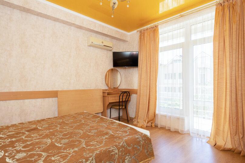 номер стандарт с балконом корп.№1, улица Десантников, 3Б, Коктебель - Фотография 1