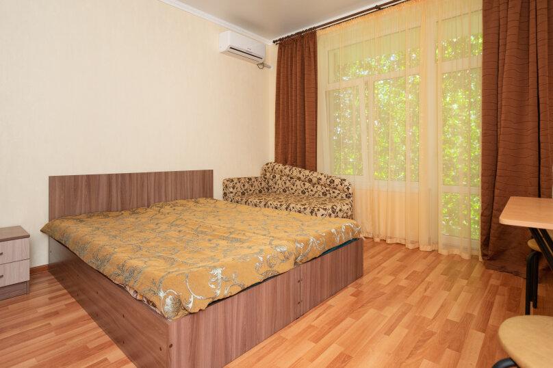 Номер стандарт с балконам кор.№2 с двумя  односпальными кроватями (2-4 этаж), улица Десантников, 3Б, Коктебель - Фотография 1