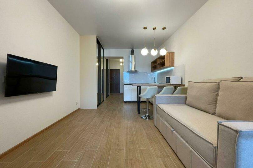 Апартаменты-студио в «ЖК Алмаз», улица Блюхера, 19 на 10 номеров - Фотография 26
