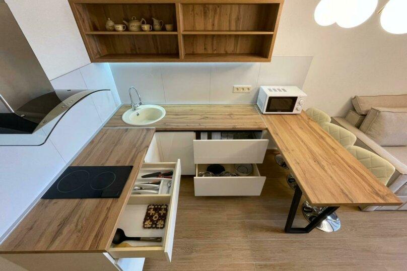 Апартаменты-студио в «ЖК Алмаз», улица Блюхера, 19 на 10 номеров - Фотография 30