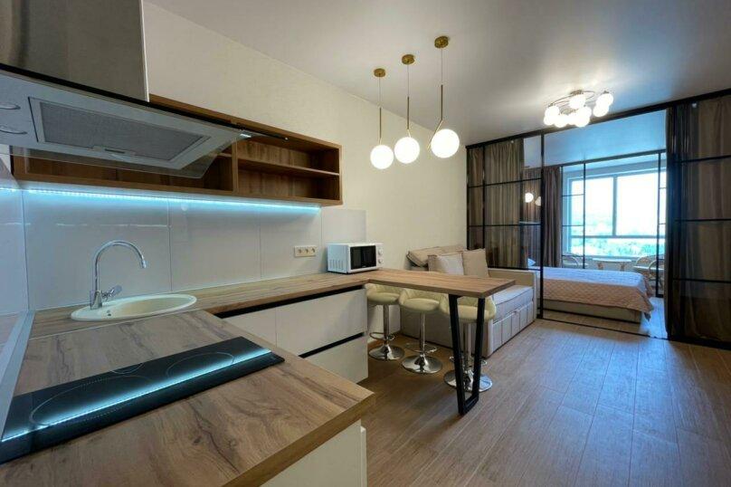 Апартаменты-студио в «ЖК Алмаз», улица Блюхера, 19 на 10 номеров - Фотография 31