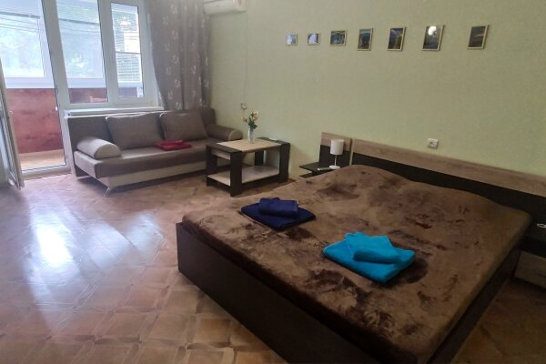 1-комн. квартира, 37 кв.м. на 4 человека, Южная улица, 11, поселок Приморский, Феодосия - Фотография 1