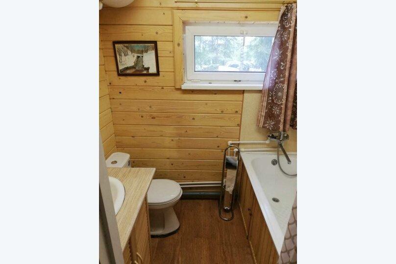 Дом в лесу ( 4 шт.) на берегу озера , деревня Стеклино, 36 на 4 номера - Фотография 35