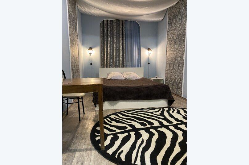 Двухместный стандарт с двуспальной кроватью , проспект Тракторостроителей, 24А, Чебоксары - Фотография 1