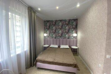 2-комн. квартира, 50 кв.м. на 6 человек, Морская улица, 3А, Ольгинка - Фотография 1