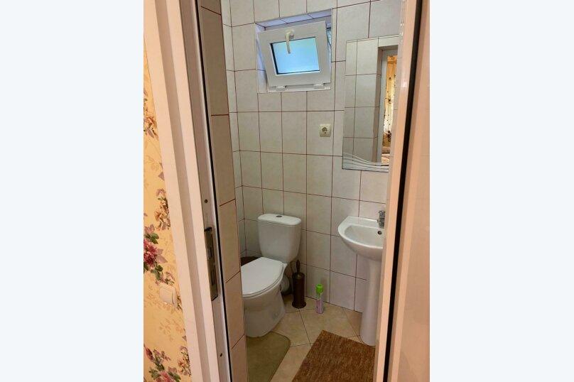 Трехместный номер с ванной комнатой (4) первый этаж, Курская улица, 25-А, Береговое, Феодосия - Фотография 6