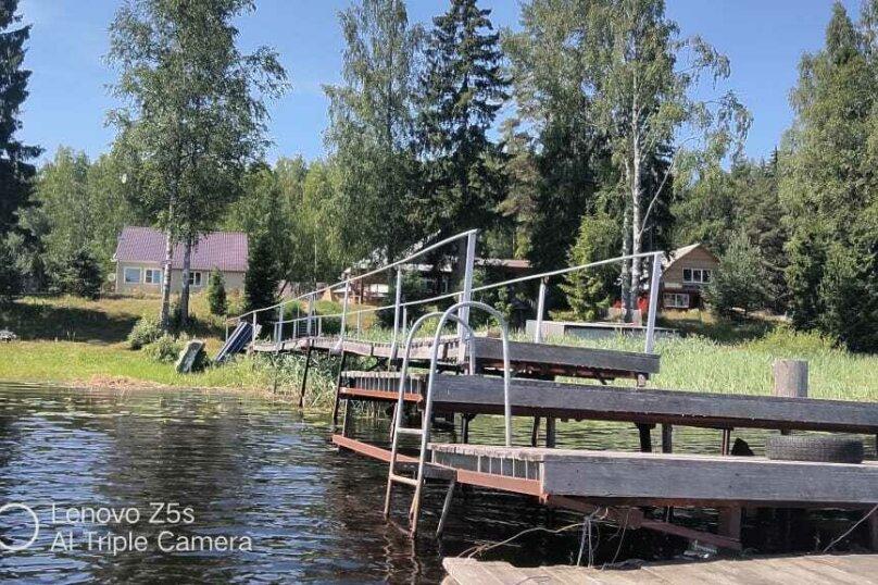 Дом в лесу ( 4 шт.) на берегу озера , деревня Стеклино, 36 на 4 номера - Фотография 12