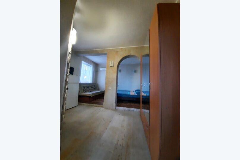 Четырехместная комната с видом на море, переулок Щепкина, 8, Алупка - Фотография 1