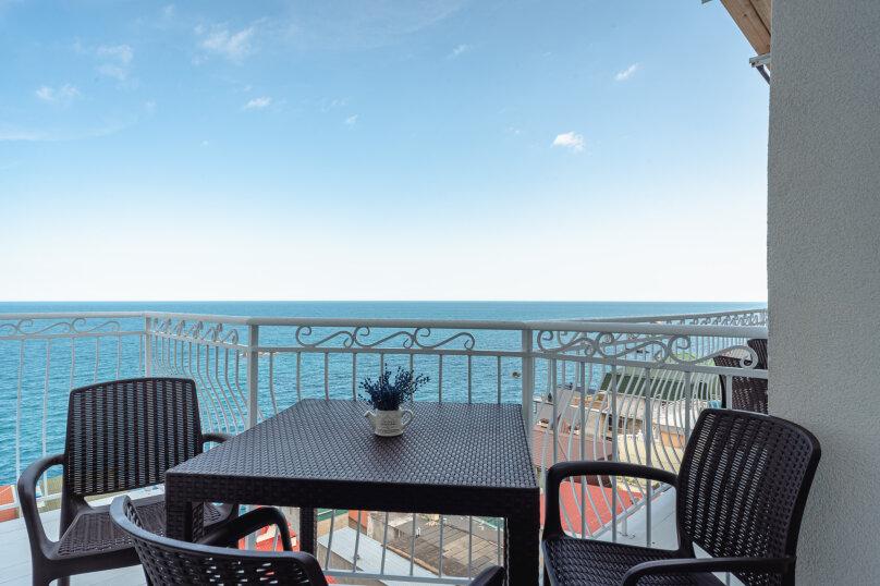 Апартамент (частичный вид на море), Княгини Гагариной, 25/353, Утес - Фотография 1