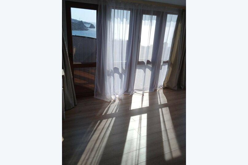 5/1 Однокомнатный видовой с двумя балконами, улица Шулейкина, 18 Б, Кацивели - Фотография 1