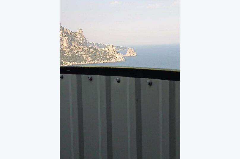 5/1 Однокомнатный видовой с двумя балконами, улица Шулейкина, 18 Б, Кацивели - Фотография 6