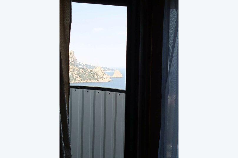 5/1 Однокомнатный видовой с двумя балконами, улица Шулейкина, 18 Б, Кацивели - Фотография 7