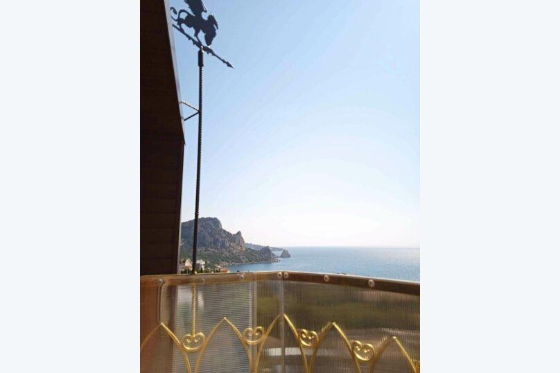 5/1 Однокомнатный видовой с двумя балконами, улица Шулейкина, 18 Б, Кацивели - Фотография 17