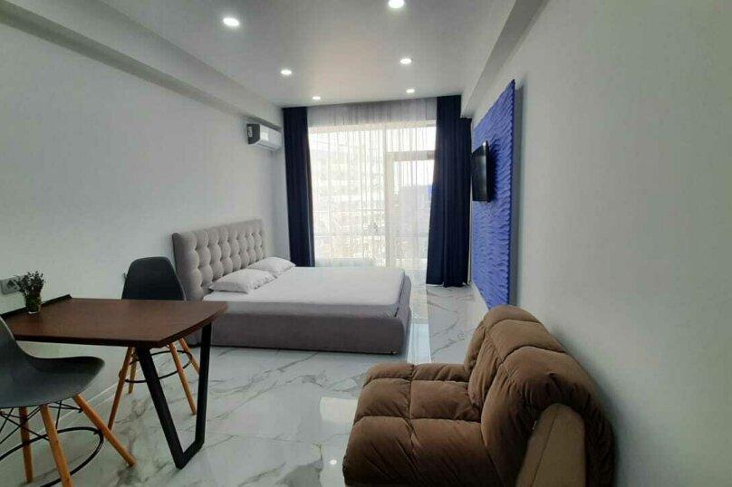 1-комн. квартира, 34 кв.м. на 3 человека, Парковая улица, 7, Севастополь - Фотография 3