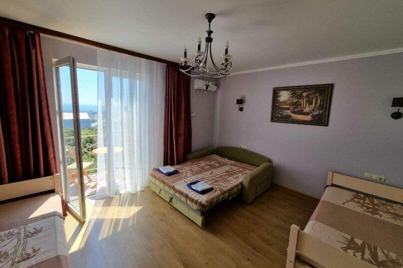 Комната  с балконом с видом на море, Ворошиловградская улица, 186А, село Верхневеселое, Сочи - Фотография 1