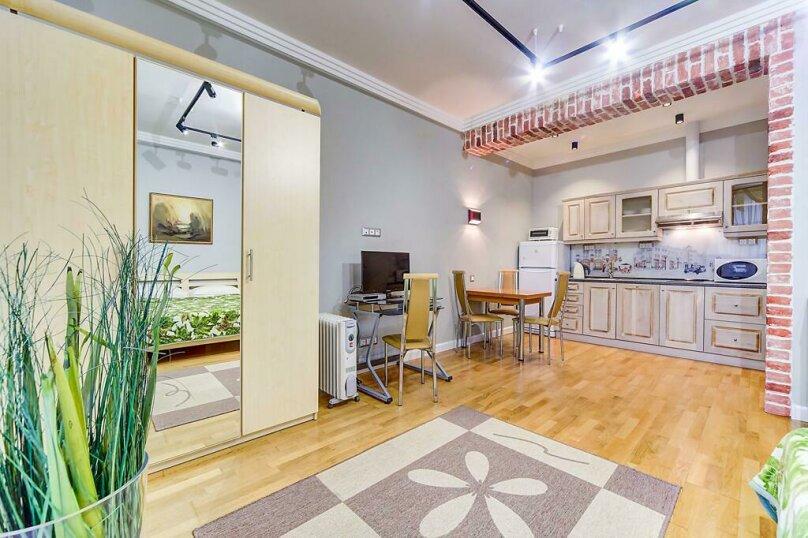 1-комн. квартира, 25 кв.м. на 2 человека, Аптекарский переулок, 4, Санкт-Петербург - Фотография 3