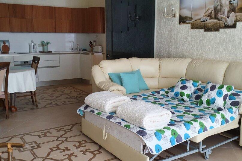 2-комн. квартира, 88.1 кв.м. на 4 человека, улица Строителей, 3А, Гурзуф - Фотография 18