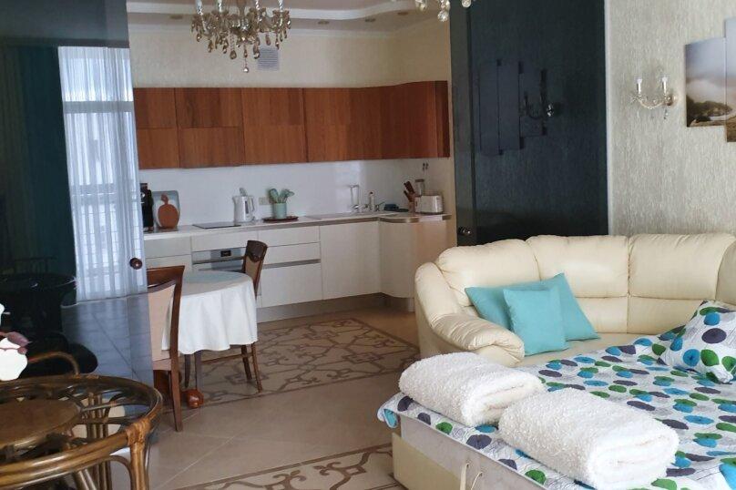 2-комн. квартира, 88.1 кв.м. на 4 человека, улица Строителей, 3А, Гурзуф - Фотография 20