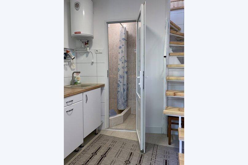 Двухуровневый коттедж, 25 кв.м. на 2 человека, 1 спальня, улица Дёмышева, 15, Евпатория - Фотография 19