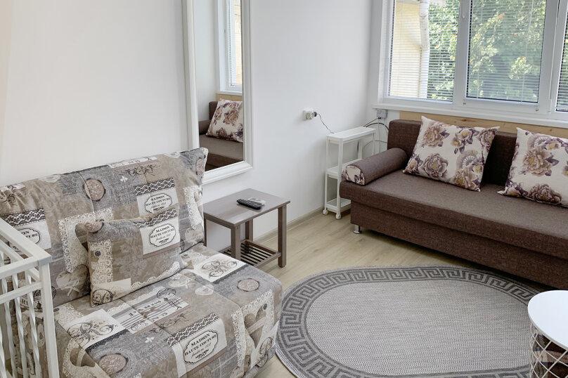 Двухуровневый коттедж, 25 кв.м. на 2 человека, 1 спальня, улица Дёмышева, 15, Евпатория - Фотография 22
