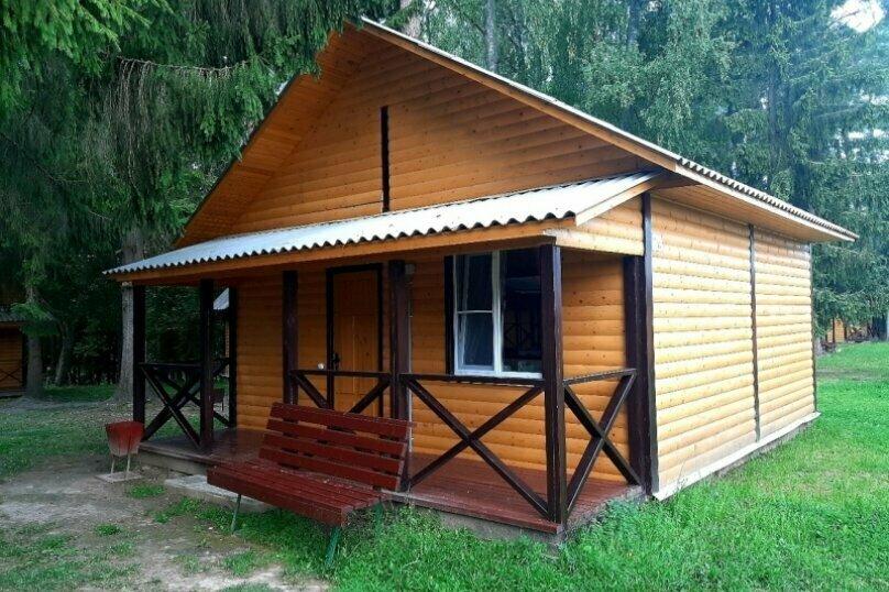 Одноэтажный деревянный зимний коттедж. Комфорт-2, дер. Калгановка, ул. Приозерная, 10, Луга - Фотография 1