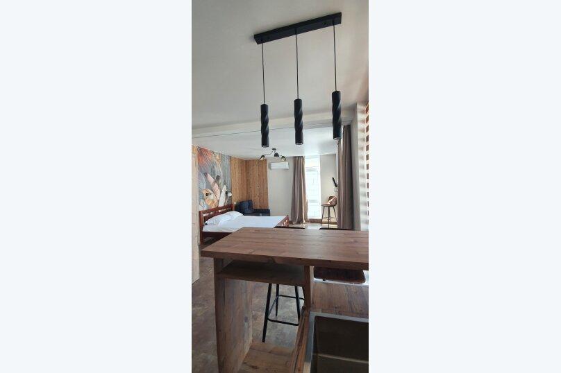 Частный Дом с квартирой-студией, 30 кв.м. на 3 человека, 1 спальня, улица К.М. Петровского, 5А, Кореиз - Фотография 5