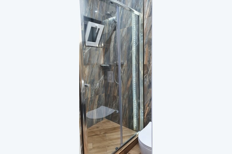 Частный Дом с квартирой-студией, 30 кв.м. на 3 человека, 1 спальня, улица К.М. Петровского, 5А, Кореиз - Фотография 12