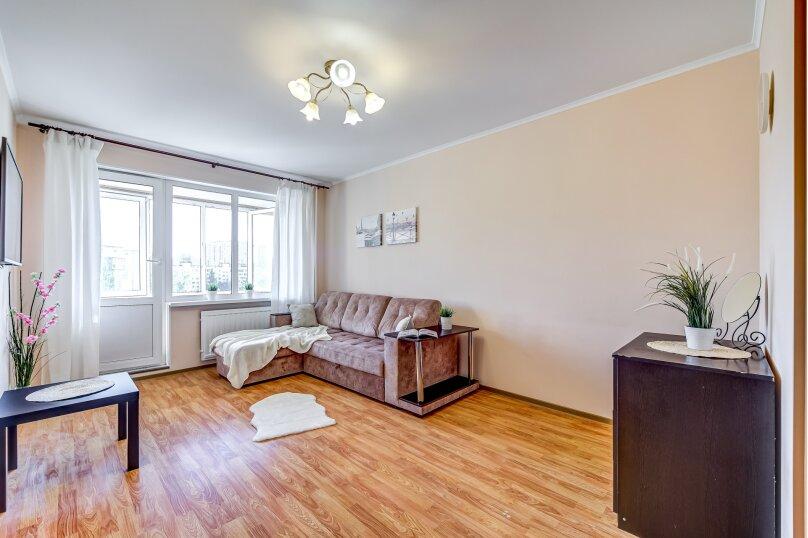 1-комн. квартира, 45 кв.м. на 2 человека, улица Шостаковича, 5к2, Санкт-Петербург - Фотография 3