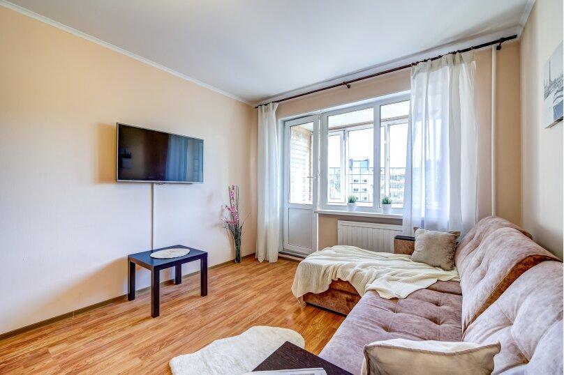 1-комн. квартира, 45 кв.м. на 2 человека, улица Шостаковича, 5к2, Санкт-Петербург - Фотография 4