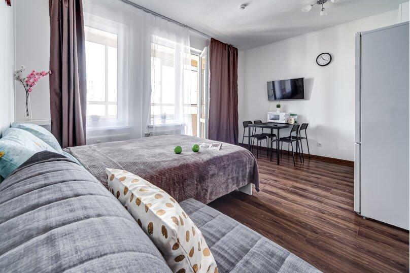 1-комн. квартира, 30 кв.м. на 2 человека, Верхне-Каменская улица, 3к1, Санкт-Петербург - Фотография 4