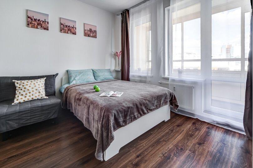 1-комн. квартира, 30 кв.м. на 2 человека, Верхне-Каменская улица, 3к1, Санкт-Петербург - Фотография 1