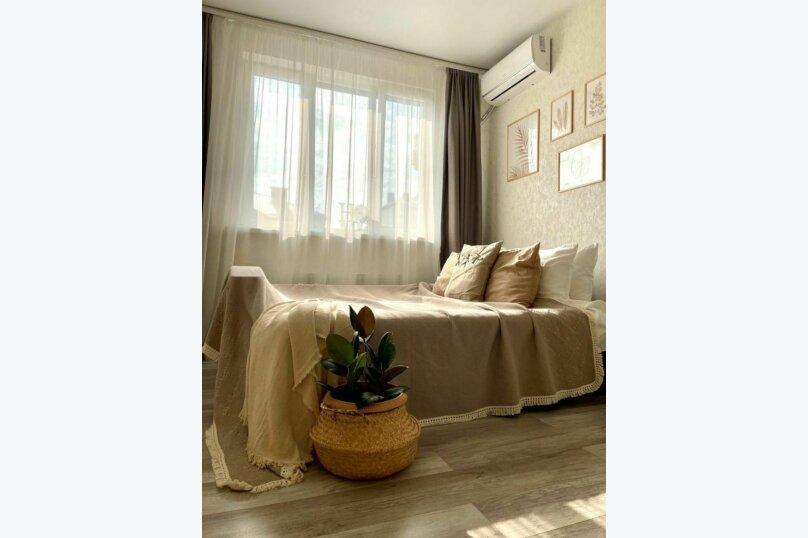 1-комн. квартира, 36 кв.м. на 3 человека, Береговая улица, 3к19, Новая Адыгея - Фотография 1