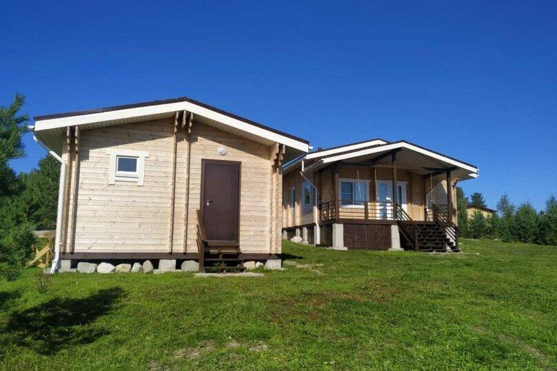 Дом на берегу озера Маслозеро, 100 кв.м. на 8 человек, 2 спальни, д. Маслозеро, Озёрная улица, 10А, Медвежьегорск - Фотография 53