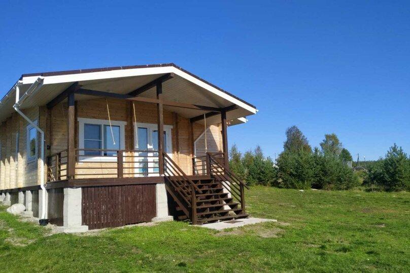 Дом на берегу озера Маслозеро, 100 кв.м. на 8 человек, 2 спальни, д. Маслозеро, Озёрная улица, 10А, Медвежьегорск - Фотография 54