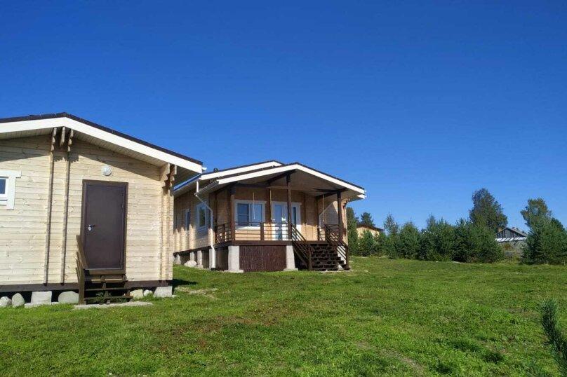 Дом на берегу озера Маслозеро, 100 кв.м. на 8 человек, 2 спальни, д. Маслозеро, Озёрная улица, 10А, Медвежьегорск - Фотография 56