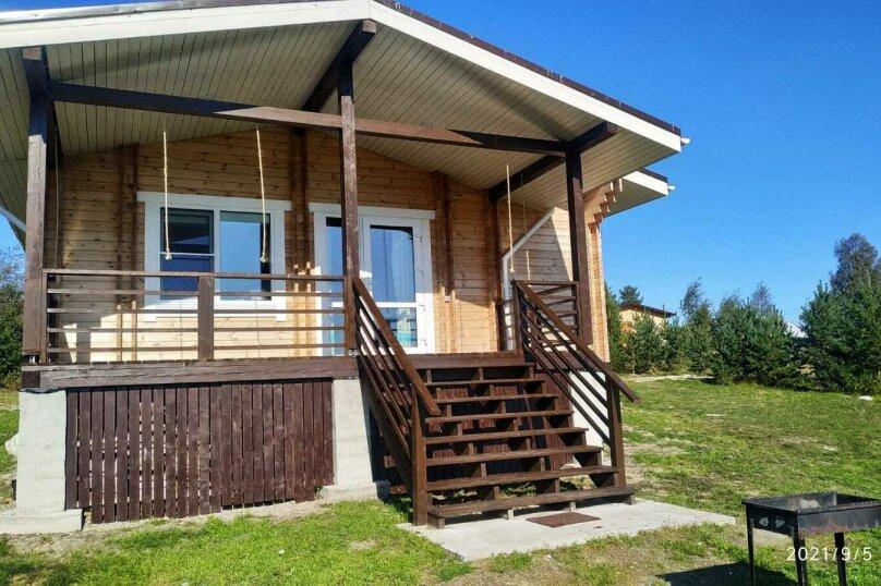 Дом на берегу озера Маслозеро, 100 кв.м. на 8 человек, 2 спальни, д. Маслозеро, Озёрная улица, 10А, Медвежьегорск - Фотография 57